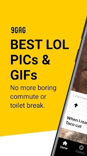 9GAG: Best Funny GIFs & Pics- screenshot thumbnail