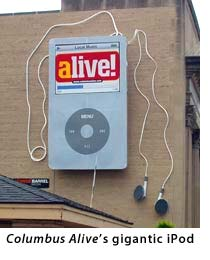 Giant iPod billbord