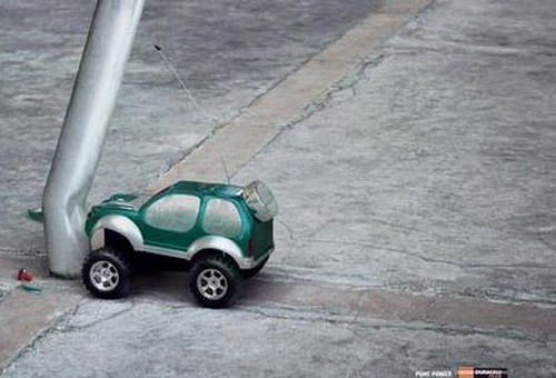 duracell toy car