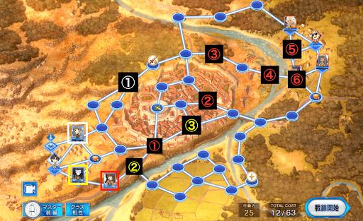 ローマ戦線2の攻略チャート