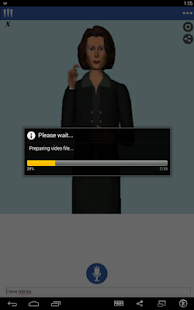Mimix -Speech to Sign Language- screenshot thumbnail
