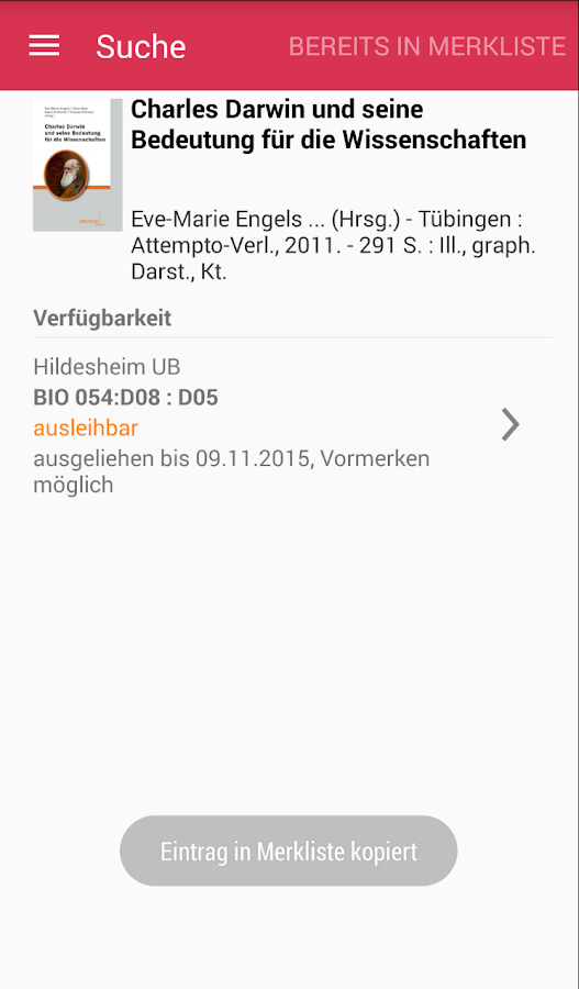 BibApp HI- screenshot
