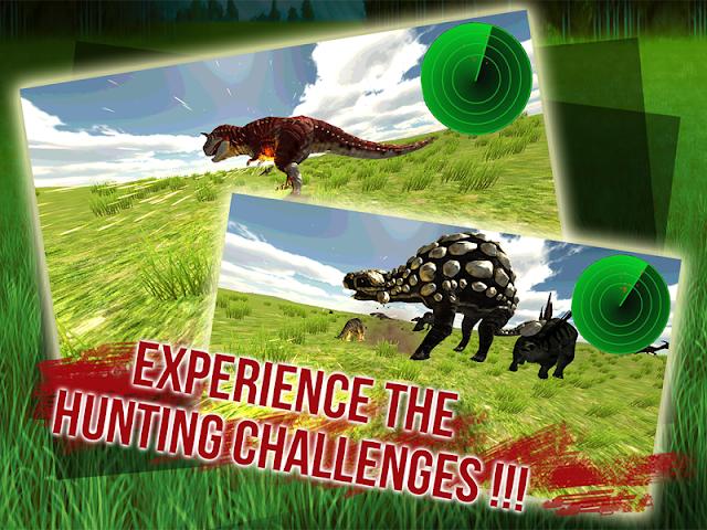 android Sniper Dino 3D: World Jurassic Screenshot 1