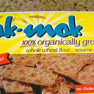 Organic Lemon Sesame Whole Wheat Crackers Recipe