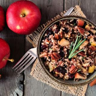 Apple Pecan Wild Rice Dish Recipe