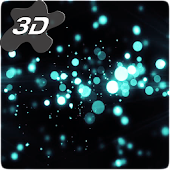 Gyro Particles 3D Live Wallpaper