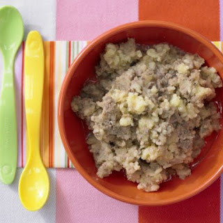 Mashed Potatoes with Chicken Liver