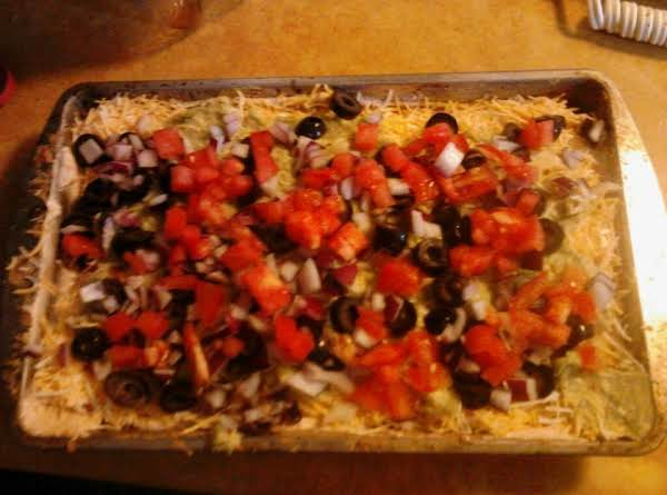 Robin's 7-layer Fiesta Dip Recipe