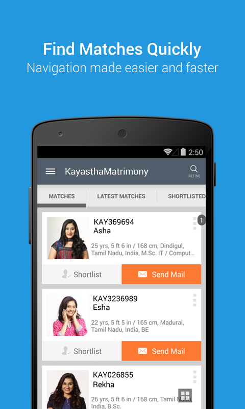 KayasthaMatrimony- screenshot