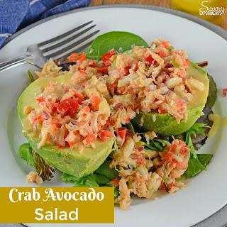 Crab Avocado Salad.