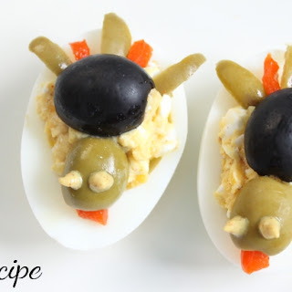 Turkey Deviled Eggs