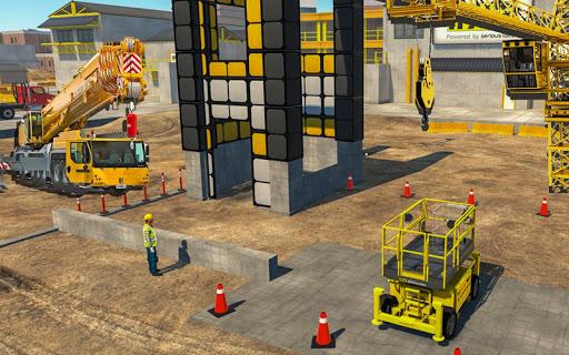 Heavy Crane Simulator Game 2019 u2013 CONSTRUCTIONu00a0SIM 1.2.5 screenshots 1