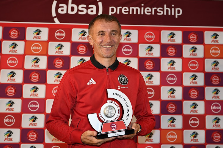 28e22ed0973 Pirates coach Sredojevic thanks his team after winning coach of the month  award