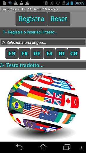 Traduttore free 1.0 screenshots 1