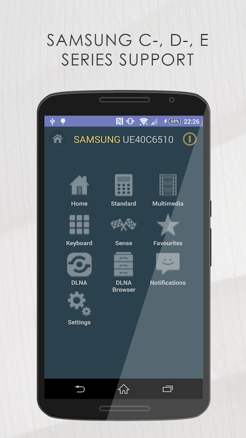 Smart TV Remote for Samsung- screenshot