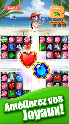 Télécharger Jewel Ocean - New Free Match 3 Puzzle Game apk mod screenshots 2