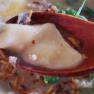 Pinched Noodles Soup 面粉粿.
