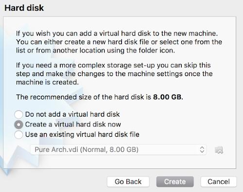 Arch Linux Default HDD 1