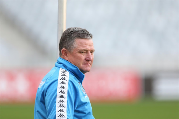 Bidvest Wits' head coach Gavin Hunt. File photo