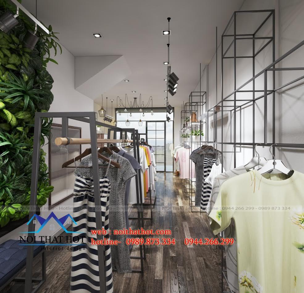 thiết kế shop thời trang nữ bền và đẹp