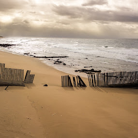 Desolate Beach by Gavin Fundi - Landscapes Waterscapes (  )