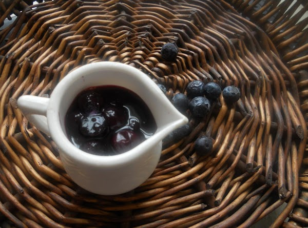 To make blue berry compote:  In a saucepan in medium/high heat add the...