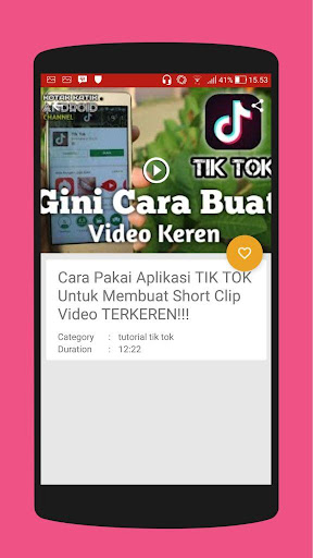 Tutorial Tik Tok 2018 - Video 3.0.0 screenshots 2