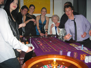 Photo: Roulette always popular with all ages