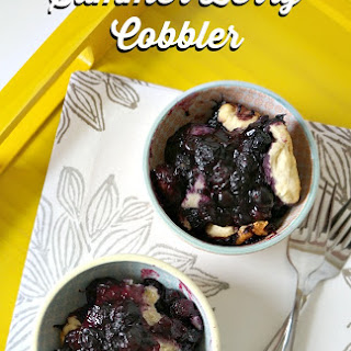 Simple Summer Berry Cobber