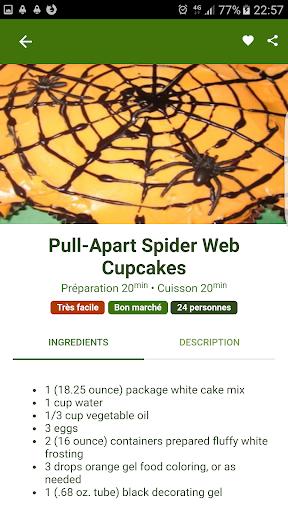Halloween Recipes 1.0.1 screenshots 4