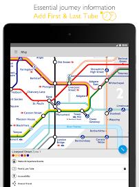 Tube Map London Underground Screenshot 9