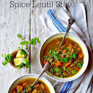 Berbere Spiced Ethiopian Lentil Stew Recipe (Mesir Wot)