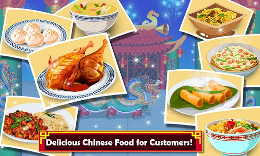 Chinese Food Court Super Chef Story Cooking Games 1.3 screenshots 3