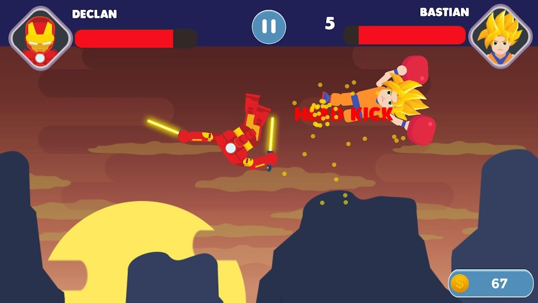 Stick Fight: League Of Stick Android App Screenshot