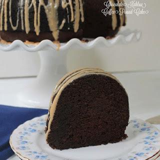 Chocolate Kahlua Coffee Pound Cake