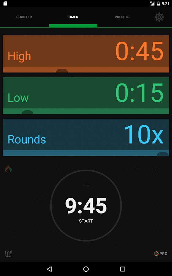 iCountTimer Free- screenshot