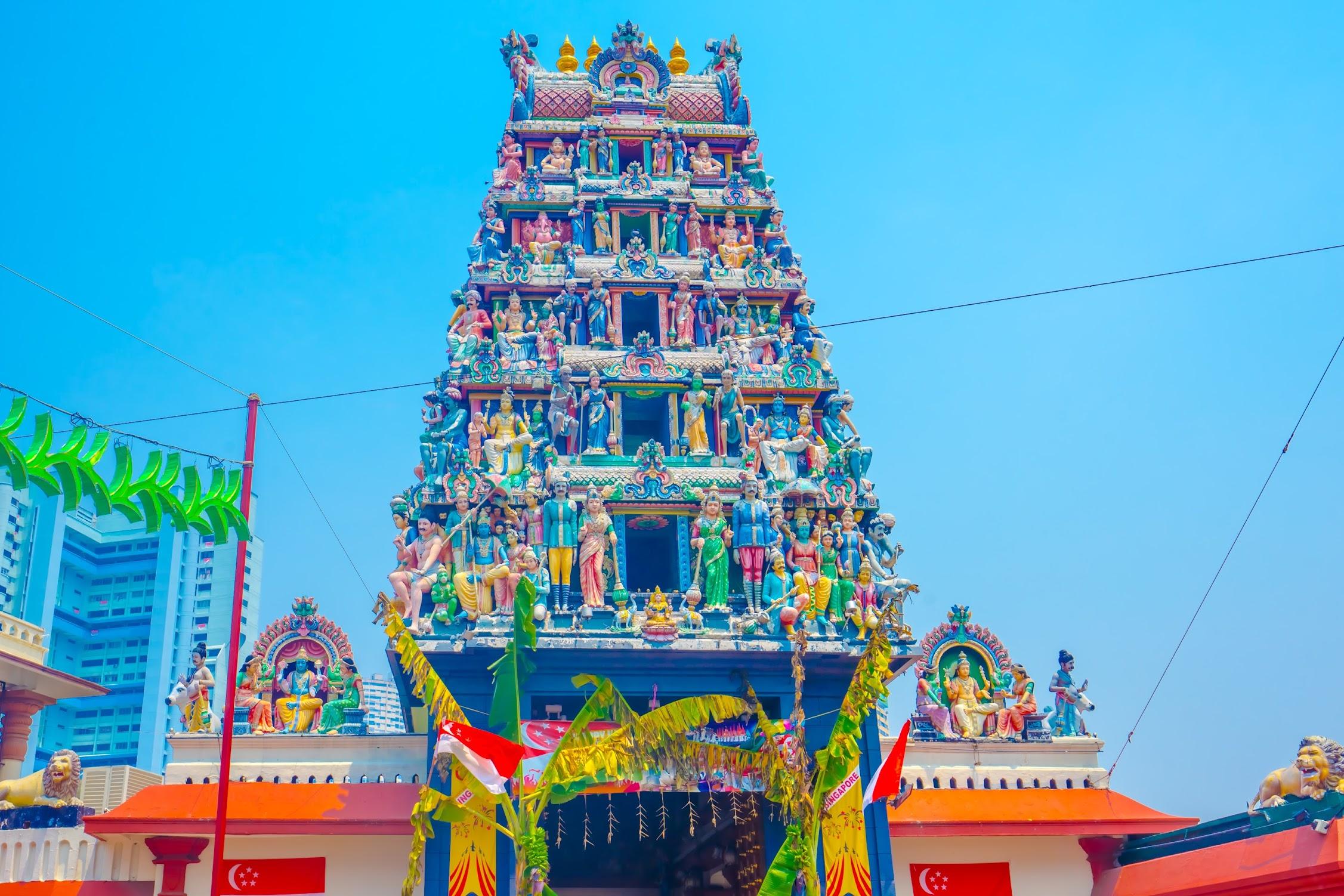 シンガポール スリ・マリアマン寺院1