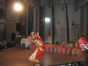 Photo: shweta doing classical bharathnatyam dance