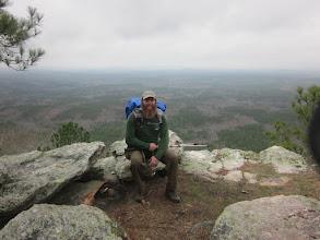 Photo: Relaxing along Alabama's Pinhoti Trail