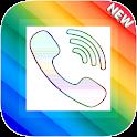 Color call screen icon