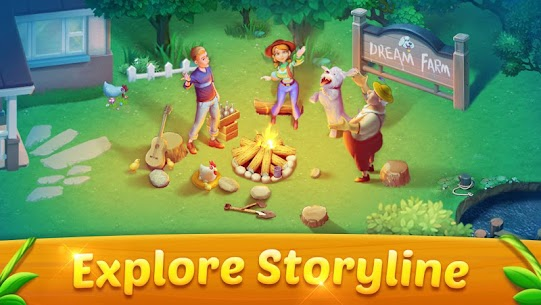 Solitaire Dream Farm MOD (Unlimited Coins) 2