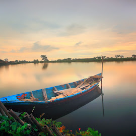 .....Sampan..... by ASEP MAULANA - Transportation Boats