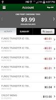 Screenshot of CFD Mobile Banking