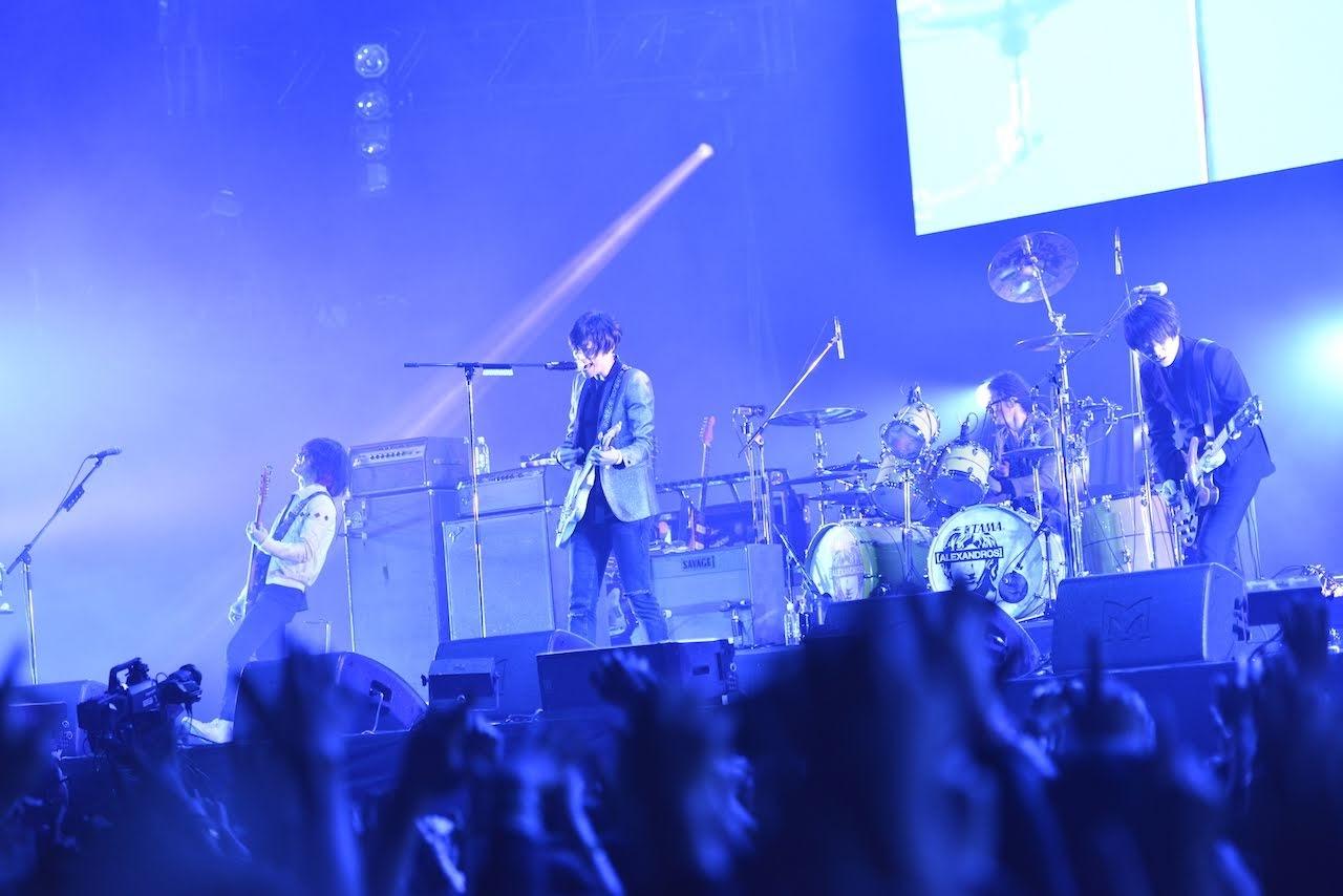 【迷迷現場】COUNTDOWN JAPAN 18/19 [ALEXANDROS] 第二日主舞台壓軸 蛻變進化狂熱演出席捲全場