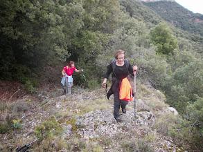 Photo: Montée vers le Coll Sabassa