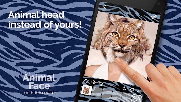 Animal Face Photo editor - screenshot