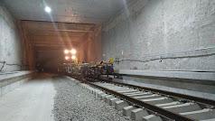 Túnel del soterramiento en El Puche.