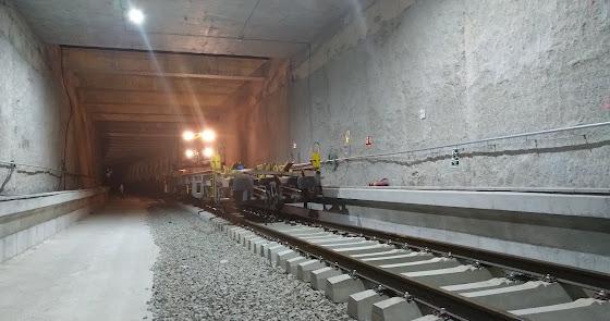 ... y las lluvias también 'dejan sin trenes' a Almería