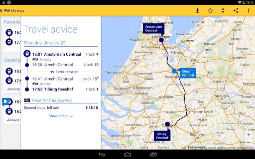 Reisplanner Xtra screenshot 8