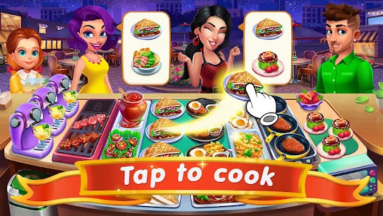 Cooking Sizzle: Master Chef MOD APK (Unlimited Money) 2